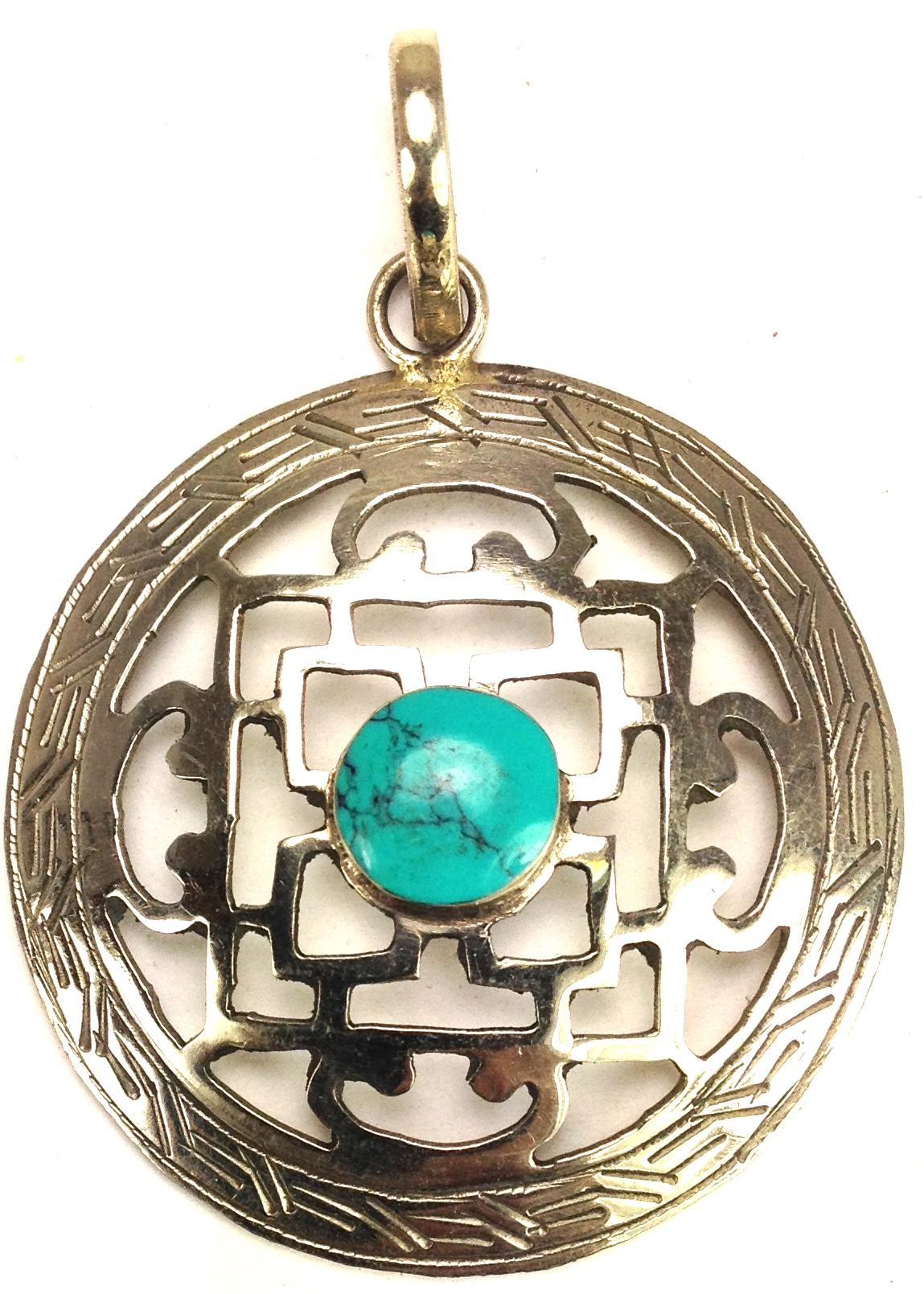 White Turquoise Mandala